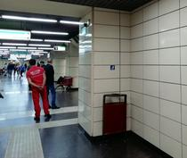 Incident la metrou (foto arhiva)