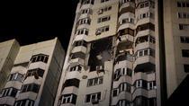 Explozie la un bloc din capitala R. Moldova