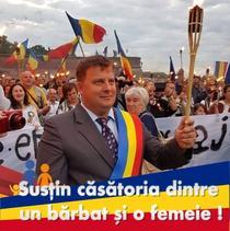 Daniel Rusu, primarul comunei Spring