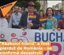 Sputnik despre referendum