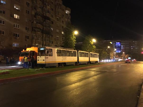 Linia tramvai 19 blocata