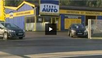 Atelierul auto în care a fost descoperit copilul