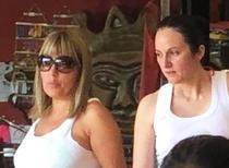 Udrea si Bica in Costa Rica