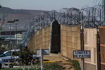 Gard de sarma ghimpata la frontiera SUA cu Mexic