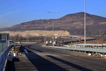 A1 langa Deva (in departare se vede dealul Soimus)