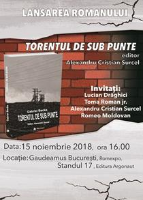 """Torentul de sub punte"" - Gabriel Becke"