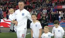 Wayne Rooney, alaturi de copiii sai