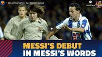 Lionel Messi, 15 ani in tricoul Barcelonei