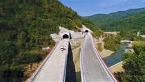 Autostrada prin munti in Serbia