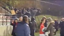 Ultrasi la meciul de fotbal feminin Standard vs Anderlecht