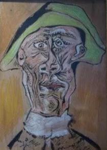 Tete D 'Arlequin, de Picasso