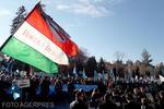 """Mii de oameni la un miting pentru autonomia teritorială a """"Ţinutului secuiesc"""", organizat la Sfântu Gheorghe"""