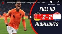 Germania, remiza cu Olanda