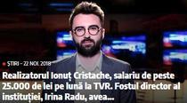 Libertatea despre salariul lui Ionut Cristache