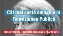 """Iulian Bulai, despre costul """"omagiilor"""" la TVR"""