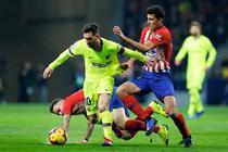 Remiza intre Atletico si Barcelona