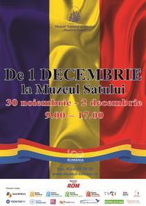 1 DECEMBRIE la Muzeul Satului
