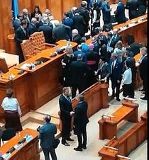 Iohannis in Parlament