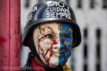 Imagine de la un protest din Venezuela