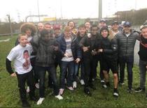 Fanii Liverpool alaturi de migranti