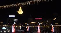 Luminite de Craciun in Capitala