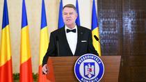 Klaus Iohannis, la receptia de Ziua Nationala