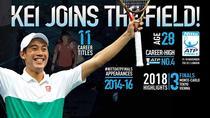 Kei Nishikori, pentru a patra oara la Turneul Campionilor