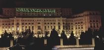 Mesaj pentru Dragnea, proiectat pe Parlament