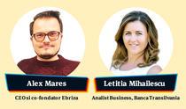 Alex Mares - Ebriza, Letitia Mihailescu - Banca Transilvania
