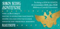 Simon Sebag Montefiore vine la Bucuresti