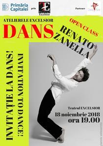 Invitatie la dans cu Renato Zanella