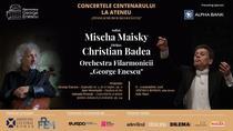 Misha Maisky si Christian Badea la Ateneul Roman