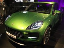 Porsche Macan Mamba Green