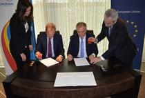 Semnarea contractului cu Transgaz