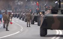 Parada militara la Alba Iulia