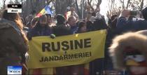 Protest Jandarmerie