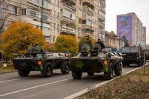 Parada militara la Timisoara