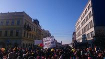 Manifestatie la Cluj, 1 decembrie