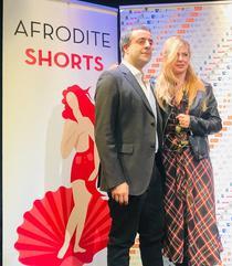 Cristina Cepraga, premiata la festivalul Aphrodite Shorts
