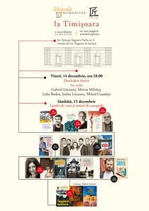 Deschidere librărie Humanitas și magazin artizanal japonez Takumi la Timișoara