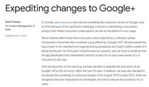 Anuntul despre Google Plus