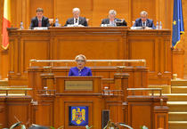 Dancila in Parlament