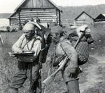 "Exploratorul Vladimir Klavdievich Arsenyev cu ""realul"" Děrsu (1906)"