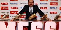 Lionel Messi, inca o gheata de aur in CV