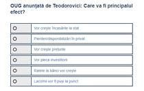 Sondaj OUG Teodorovici