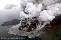 Anak Krakatoa - eruptie