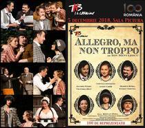 Allegro, ma non troppo - 100 reprezentatii