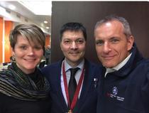 Oleg Kononenko, Anne McClain si David Saint-Jaques