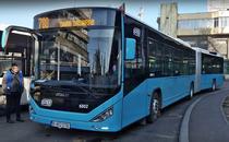 Autobuz articulat Otokar in Bucuresti