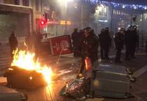 Proteste la Marsilia